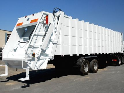 Garbage Semi Trailer