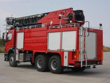Hydraulic Ladder Fire Truck