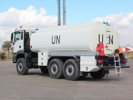 Fuel Tanker Delivered To MAKAYA  Coctumer