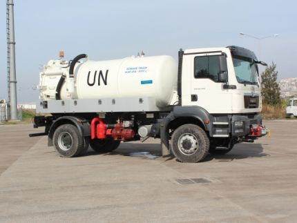 MAKAYA SEWAGE TRUCKS DELIVERED ...